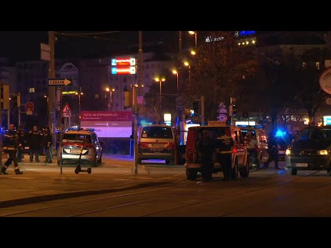 Police on scene of shooting near synagogue in Vienna (2) | AFP