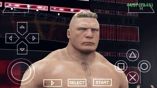 WWE 2K15 PPSSPP ISO GAME For Android Highly Compressed Only 250MB With Download Link