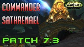 Commander Sathrenael  Argus Krokuun WQ 7.3 PTR - World of Warcraft