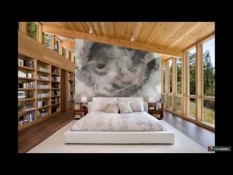 Фотообои в спальне 99 идей