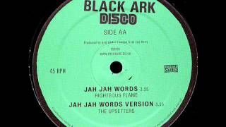Righteous Flame - Jah Jah Words / Jah Jah Words Version