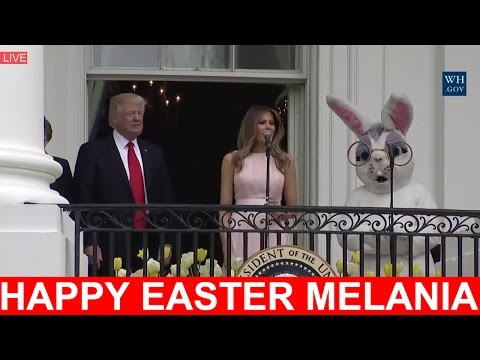 WONDERFUL: Melania Trump Speech with President Donald Trump Speech The White House Easter Egg Roll