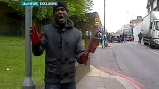 Woolwich hero's extraordinary compusure: how mother stood up to knifeman