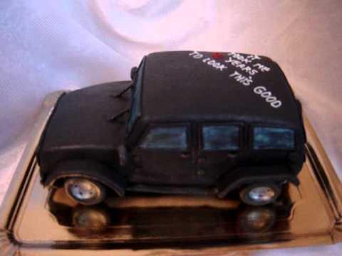 Jeep Cake YouTube