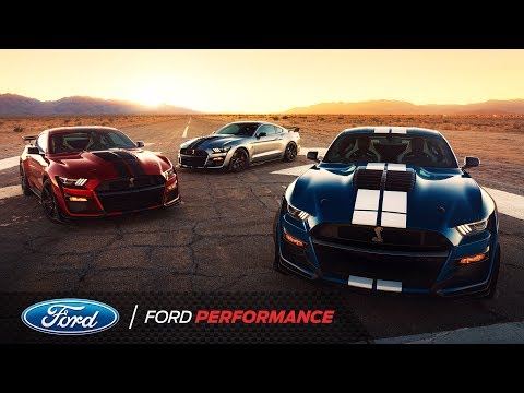 700+ HP Mustang Shelby GT500 Unveiled at North American International Autoshow | Ford Performance