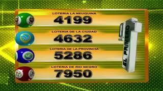 RESULTADO DE QUINIELA EL PRIMERO Nº 22901  / 22-11-19 - LOTERIA LA NEUQUINA