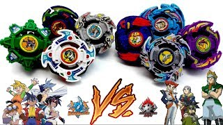 BLADEBREAKERS vs DEMOLITION BOYS - Beyblade 2001 Team Battle: World Championship Final BBAチーム VS ボーグ