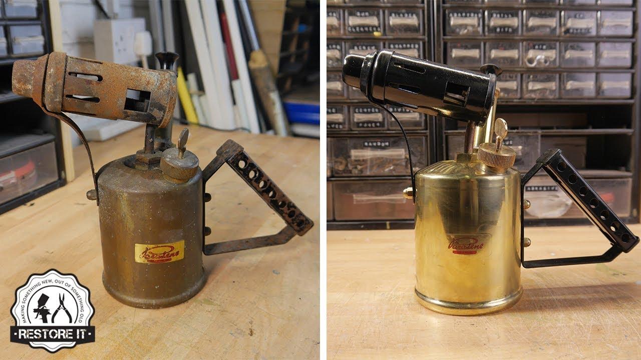 Vintage Paraffin Torch Restoration