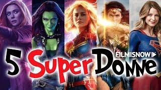 5 SUPERDONNE CHE MERITANO UN FILM | #Cinevlog