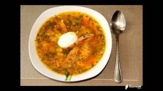 Суп с молодой фасолью