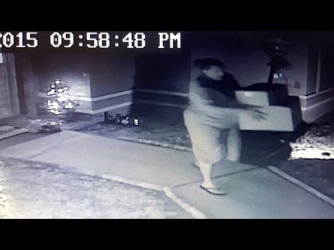 Cop's Wife Caught Stealing Packages From Another Officer's Front Porch