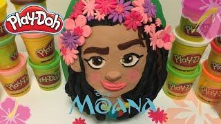 GIANT MOANA Egg Surprise Play Doh - Disney Princess Moana Teaser Trailer (HD)