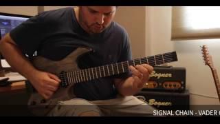 kiesel guitars vader headless guitar sound demo