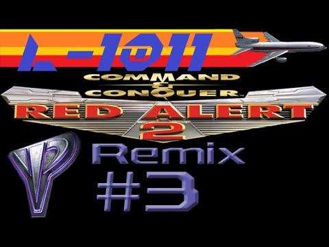 Red Alert 2 Remix: Game 3 (Yuri vs 2 Brutal AI)