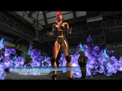 DC Universe PlayStation 4 Giganta Boss Battle