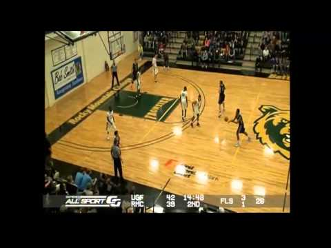 2014 Frontier Conference Tournament: #10 Rocky Mountain College (White) vs. U of Great Falls (Black)