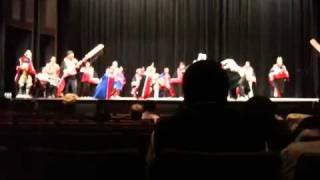 Angoon Tlingit dancers