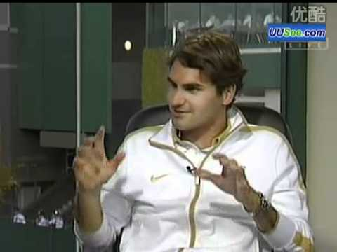 2009 Wimbledon Vijay Amritraj's interview with Roger Federer