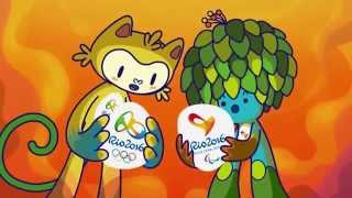 Представилены талисманы Олимпиады 2016