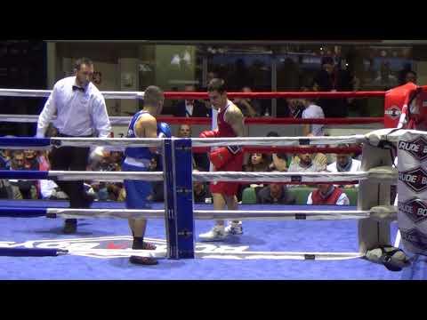Martín Molina vs Mario Ospina. Boxeo Zaragoza  S.L. y J.R. Escriche  Zaragoza 17032018