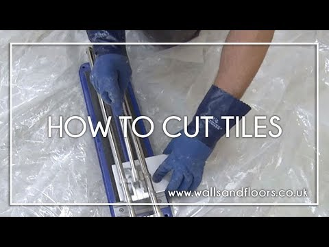 How To Cut Tiles Cutting Wall And Floor Tiles Youtube