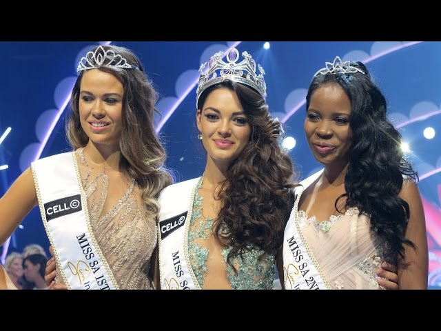 Demi-Leigh Nel-Peters crowned Miss South Africa 2017