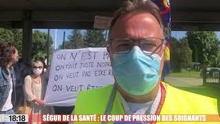 Ségur de la santé : le coup de pression des soignants d'Avignon