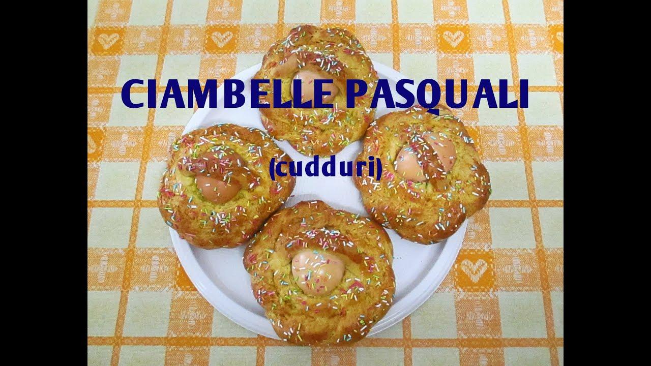 Ciambelle Cudduri Pasquali Di Farina Integrale Bimby Tm5 Youtube
