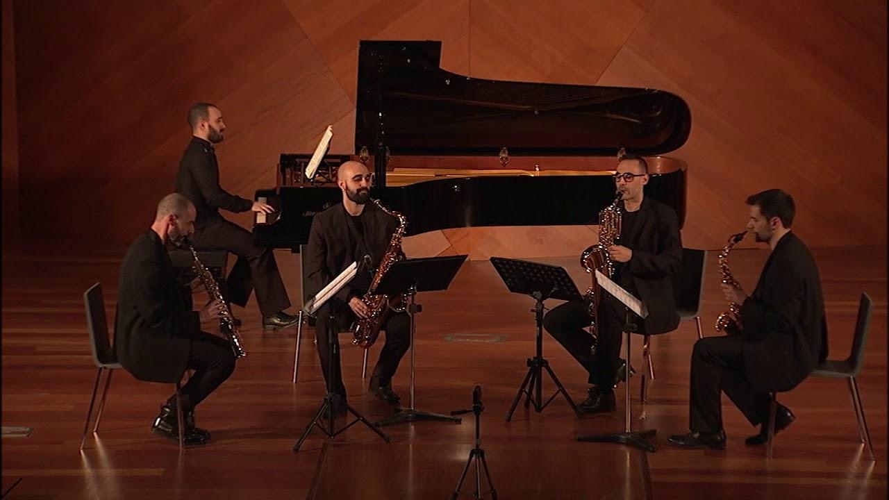 """""""Memorias"""" de Pedro Iturralde (Octavia Saxophone Quartet)"""