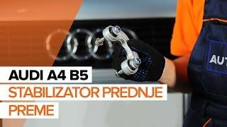 Odstraniti Zglob stabilizatorja AUDI - video vodič