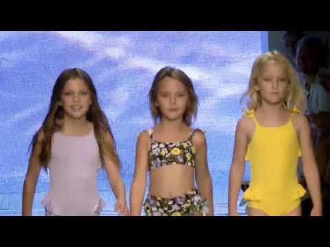 Tori Praver Swim Resort / Spring 2021 Runway Show | Kids - 3 cam Edit Fashion Show @ NuWave Miami