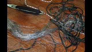 как проверить что рыболовная сеть сделана хорошо и будет ловить рыбу