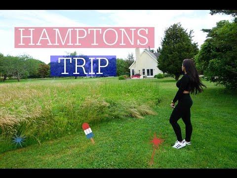 VLOG♡ Trip To The Hamptons
