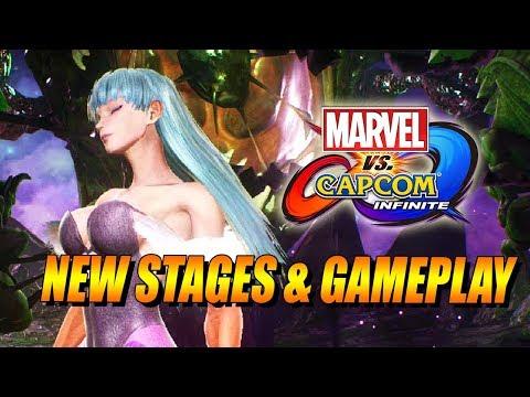 NEW STAGES & GAMEPLAY - Marvel Vs. Capcom Infinite Update