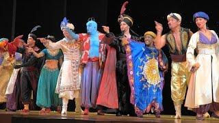 4K Disney's Aladdin A Musical Spectacular 2015  Disney California Adventure