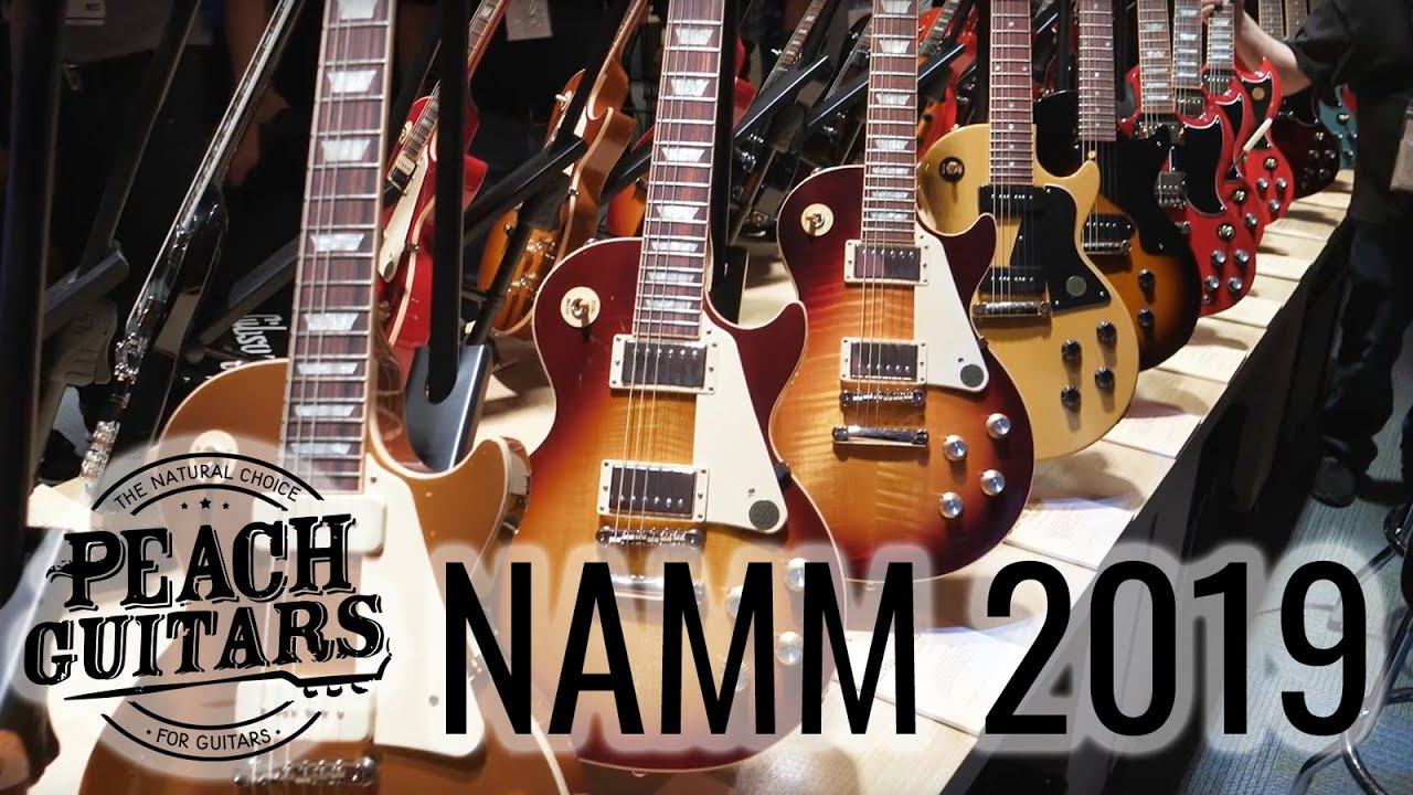 Gibson 2019 Lineup revealed at last - A return to quality