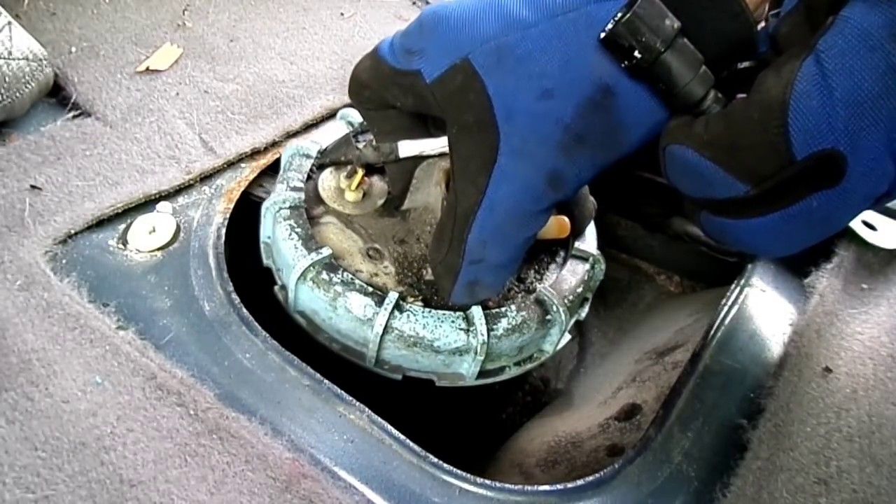 2000 Mustang Fuel Filter Replacement