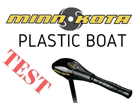 Minn Kota Endura C2 40 plastic boat speed test