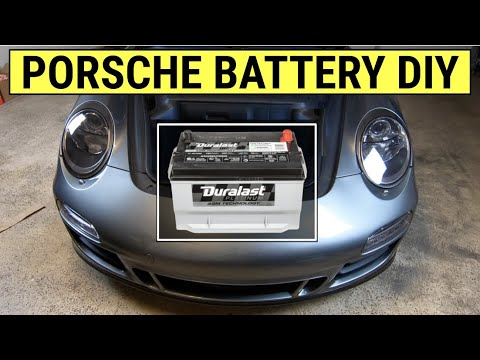 How To Replace a Dead Battery on a Porsche 911 (997 & 987 Boxster / Cayman DIY)