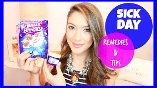 SICK DAY REMEDIES & TIPS! | Blair Fowler Thumbnail