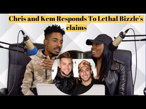 Chris and Kem Responds To Lethal Bizzle's claims plus 'Little Bit Leave It' Review  [The Scene]