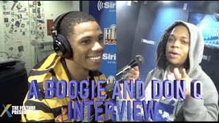 A Boogie & Don Q Sit With DJ Suss One & The Feature Presentation!!