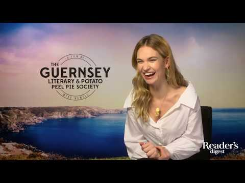 Lily James: The Guernsey Literary and Potato Peel Pie Society Interview