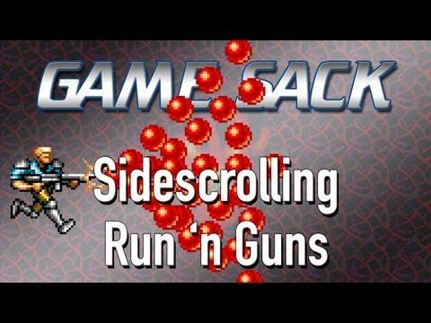 Game Sack - Sidescrolling Run 'n Guns