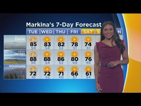 Markina Brown's Weather Forecast (April 23)
