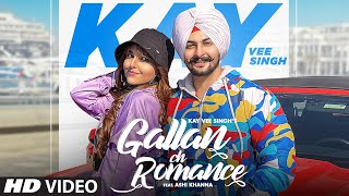 Gallan Ch Romance | Kay Vee Singh Ft Ashi Khanna | Cheetah | Ricky Malhi | Latest Punjabi Songs 2021
