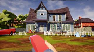 Hello Neighbor For Nintendo Switch | Act 1 - Red Key Gameplay  Direct-feed Switch Footage