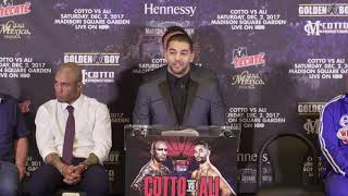 Sadam Ali on challenging Miguel Cotto (Video: Golden Boy)