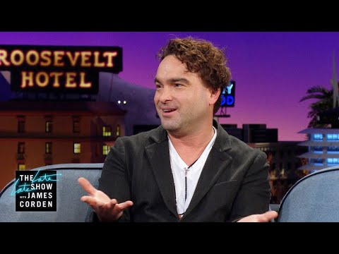 Johnny Galecki's White Lies Keep Him from 'Living Biblically'