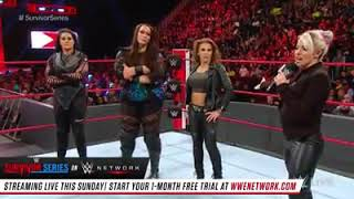 Nia Jax and 4 others. Alexa Bliss announces who she has chosen to be on the WWE Raw Survivor Series